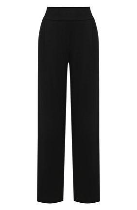 Женские брюки DEREK ROSE черного цвета, арт. 1240-BASE001 | Фото 1