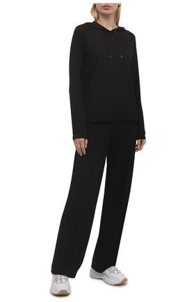 Женская худи DEREK ROSE черного цвета, арт. 1232-BASE001 | Фото 2