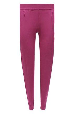 Женские брюки DEREK ROSE фуксия цвета, арт. 1230-BASE010 | Фото 1