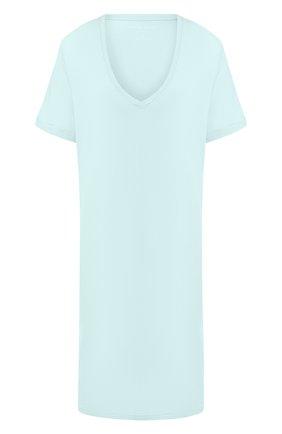 Женская сорочка DEREK ROSE светло-зеленого цвета, арт. 1207-LARA001 | Фото 1