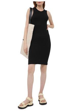 Женское платье ATM ANTHONY THOMAS MELILLO черного цвета, арт. AW2273-MJ | Фото 2