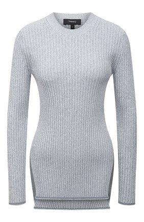 Женский пуловер из вискозы THEORY светло-голубого цвета, арт. L0116715 | Фото 1