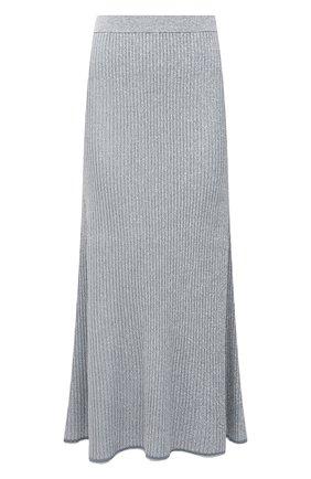 Женская юбка из вискозы THEORY светло-голубого цвета, арт. L0116717 | Фото 1