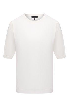 Женская хлопковая футболка THEORY белого цвета, арт. L0214713 | Фото 1