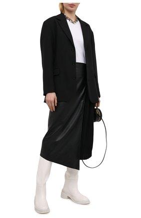 Женский жакет из вискозы AMBUSH черного цвета, арт. BWEN009S21FAB001   Фото 2
