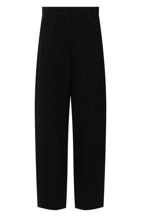 Женские брюки AMBUSH черного цвета, арт. BWCA008S21FAB001   Фото 1