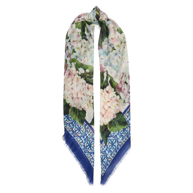 Шарф из кашемира и шелка Dolce & Gabbana