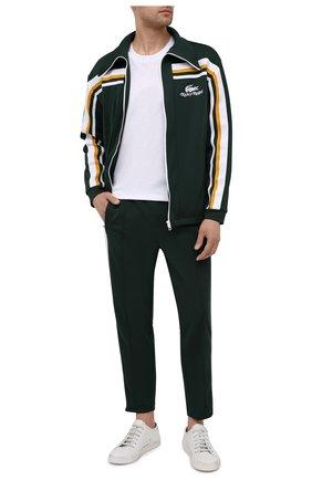 Мужские брюки lacoste x ricky regal LACOSTE темно-зеленого цвета, арт. XH1744 | Фото 2
