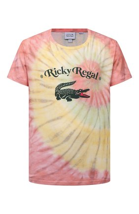Мужская хлопковая футболка lacoste x ricky regal LACOSTE разноцветного цвета, арт. TH1766 | Фото 1