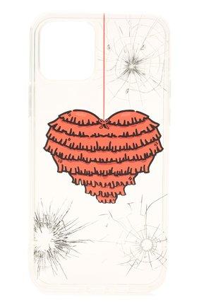 Чехол для iphone 12/12 pro MISHRABOO прозрачного цвета, арт. Heart 12/12 Pro | Фото 1