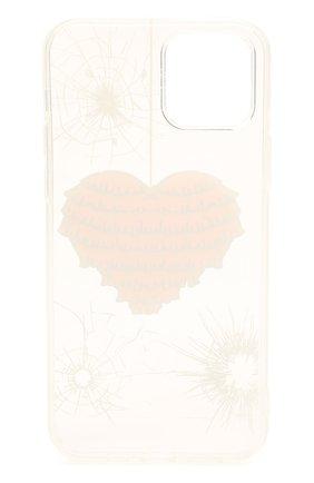 Чехол для iphone 12/12 pro MISHRABOO прозрачного цвета, арт. Heart 12/12 Pro | Фото 2