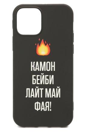 Чехол для iphone 12/12 pro MISHRABOO черного цвета, арт. Камон 12/12 Pro | Фото 1