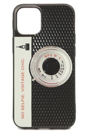 Чехол для iphone 12 mini MISHRABOO черного цвета, арт. Camera 12 mini   Фото 1