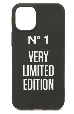Чехол для iphone 12 mini MISHRABOO черного цвета, арт. №1 12 mini | Фото 1