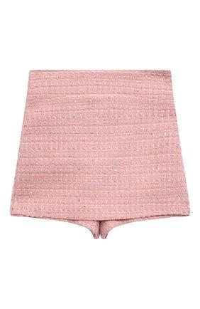 Детские юбка-шорты ZHANNA & ANNA розового цвета, арт. ZAP07012021/1 | Фото 1