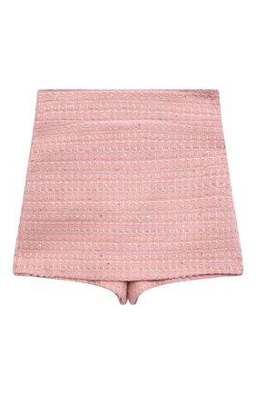 Детские юбка-шорты ZHANNA & ANNA розового цвета, арт. ZAP07012021/1_1 | Фото 1