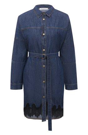 Женское джинсовое платье PHILOSOPHY DI LORENZO SERAFINI синего цвета, арт. A0435/731 | Фото 1
