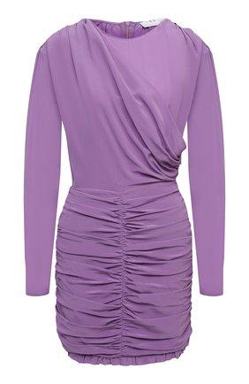 Женское шелковое платье IRO фиолетового цвета, арт. WP33N0NIE | Фото 1