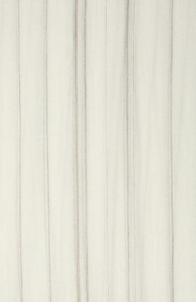 Женский кашемировый шарф BRUNELLO CUCINELLI белого цвета, арт. MSCDAGW42 | Фото 2