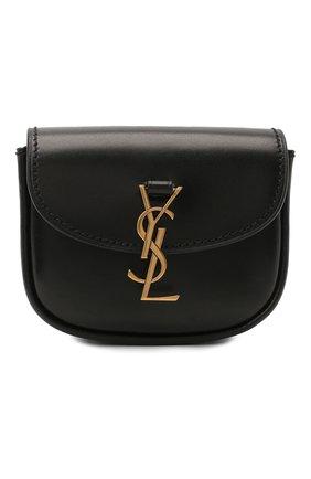 Женская поясная сумка kaia SAINT LAURENT черного цвета, арт. 634922/0IH0W | Фото 1