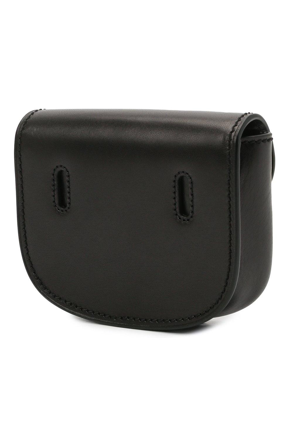 Женская поясная сумка kaia SAINT LAURENT черного цвета, арт. 634922/0IH0W | Фото 3