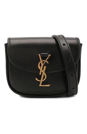 Женская поясная сумка kaia SAINT LAURENT черного цвета, арт. 634922/0IH0W | Фото 5