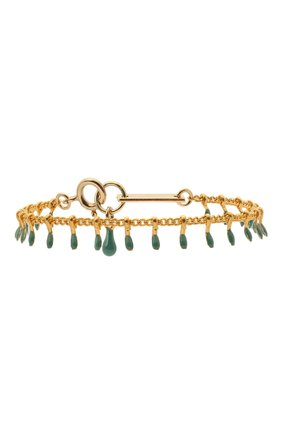 Женский браслет ISABEL MARANT зеленого цвета, арт. BR0371-21P024B | Фото 1