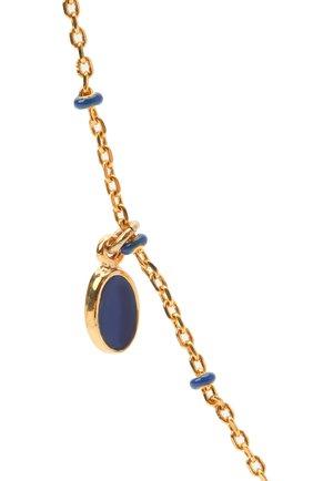 Женское колье ISABEL MARANT голубого цвета, арт. ME0076-21P024B   Фото 2