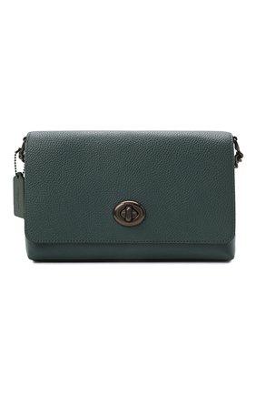 Женская сумка crosstown COACH темно-зеленого цвета, арт. 1494   Фото 1