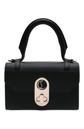 Женская сумка elisa mini CHRISTIAN LOUBOUTIN черного цвета, арт. 1215193/ELISA TH MINI   Фото 1