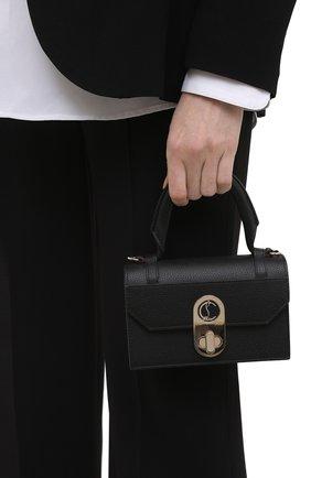 Женская сумка elisa mini CHRISTIAN LOUBOUTIN черного цвета, арт. 1215193/ELISA TH MINI   Фото 2