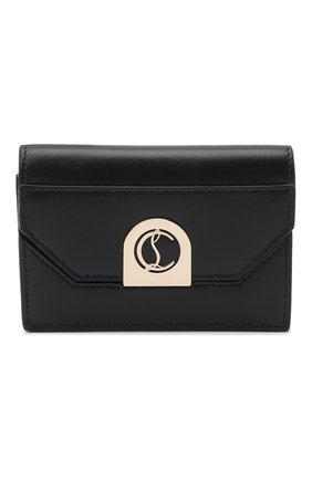 Женская сумка elisa chain CHRISTIAN LOUBOUTIN черного цвета, арт. 1215122/ELISA CHAIN CH   Фото 1