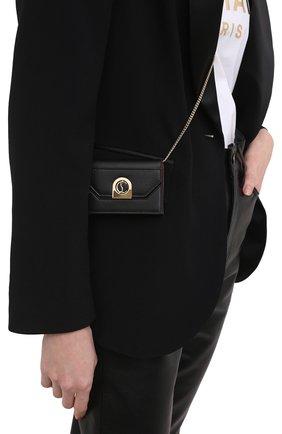 Женская сумка elisa chain CHRISTIAN LOUBOUTIN черного цвета, арт. 1215122/ELISA CHAIN CH   Фото 2