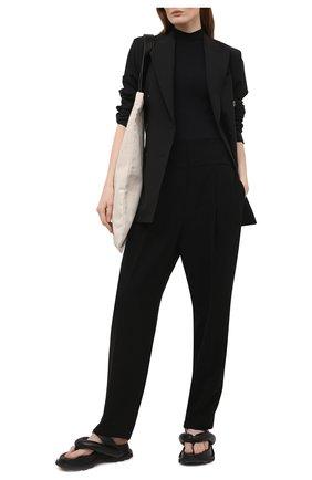 Женские брюки THEORY черного цвета, арт. L0109205 | Фото 2