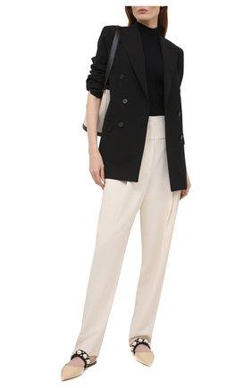 Женские брюки THEORY белого цвета, арт. L0109205 | Фото 2