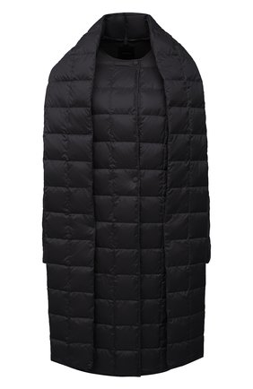 Женское пуховое пальто THEORY черного цвета, арт. K1105409 | Фото 1