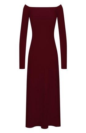 Женское платье из шерсти и шелка GABRIELA HEARST фиолетового цвета, арт. 321916 A002 | Фото 1