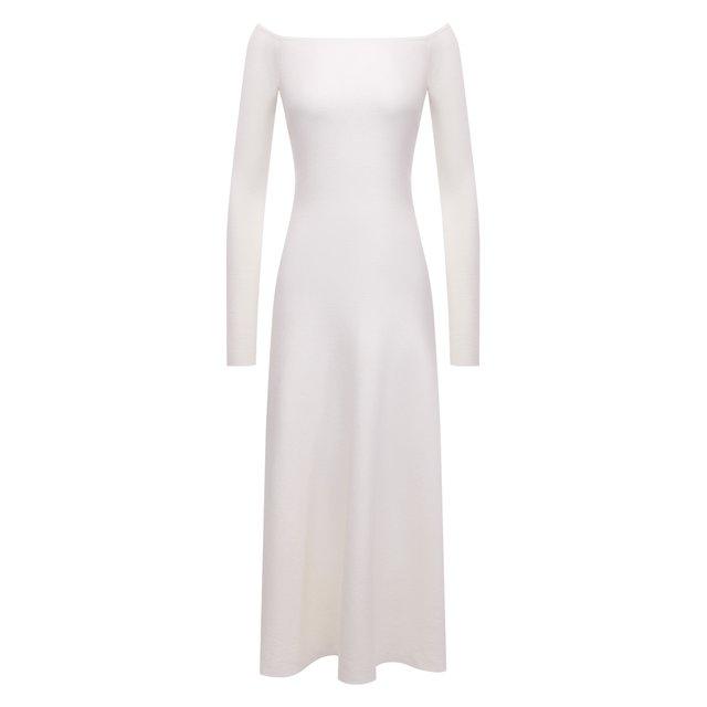 Платье из шерсти и шелка Gabriela Hearst