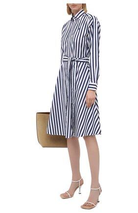 Женское хлопковое платье POLO RALPH LAUREN разноцветного цвета, арт. 211836475   Фото 2