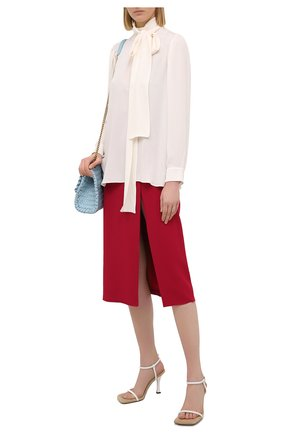Женская юбка DOLCE & GABBANA фуксия цвета, арт. F4B3UT/FURDV | Фото 2