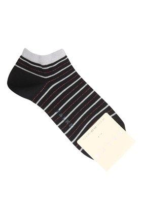 Женские хлопковые носки FALKE темно-синего цвета, арт. 46336 | Фото 1