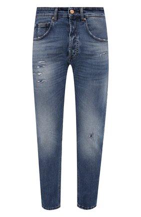 Мужские джинсы DON THE FULLER синего цвета, арт. DHS1/B0ST0N/DTF/UTSS719   Фото 1