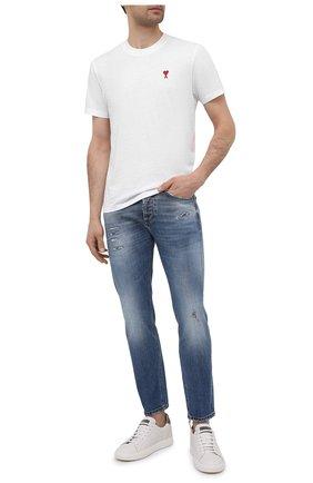 Мужские джинсы DON THE FULLER синего цвета, арт. DHS1/B0ST0N/DTF/UTSS719   Фото 2