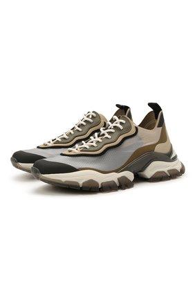 Мужские комбинированные кроссовки leave no trace MONCLER разноцветного цвета, арт. G1-09A-4M732-00-02SR3 | Фото 1