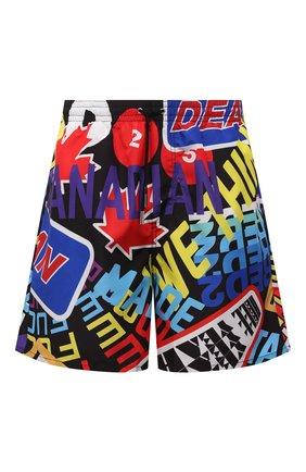 Мужские плавки-шорты DSQUARED2 разноцветного цвета, арт. D7N563860   Фото 1
