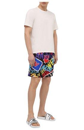 Мужские плавки-шорты DSQUARED2 разноцветного цвета, арт. D7N563860   Фото 2