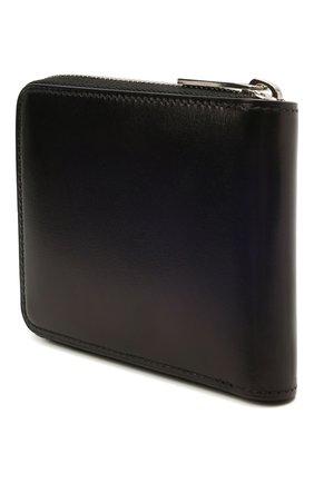 Мужской кожаное портмоне BERLUTI темно-синего цвета, арт. N214780 | Фото 2