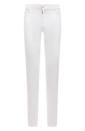 Мужские брюки KITON белого цвета, арт. UPNJSJ07T45 | Фото 1