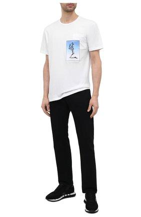 Мужская хлопковая футболка RELIGION белого цвета, арт. 11BCEN96   Фото 2 (Материал внешний: Хлопок; Длина (для топов): Стандартные; Рукава: Короткие; Принт: С принтом; Стили: Панк)