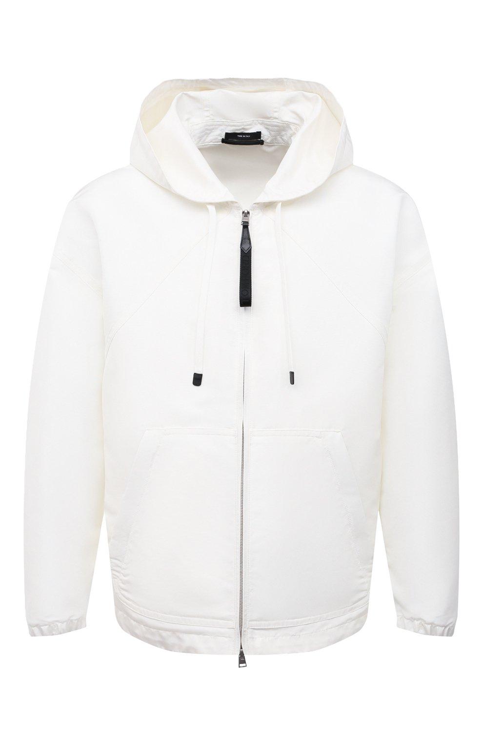 Мужская куртка TOM FORD белого цвета, арт. BW087/TF0559 | Фото 1